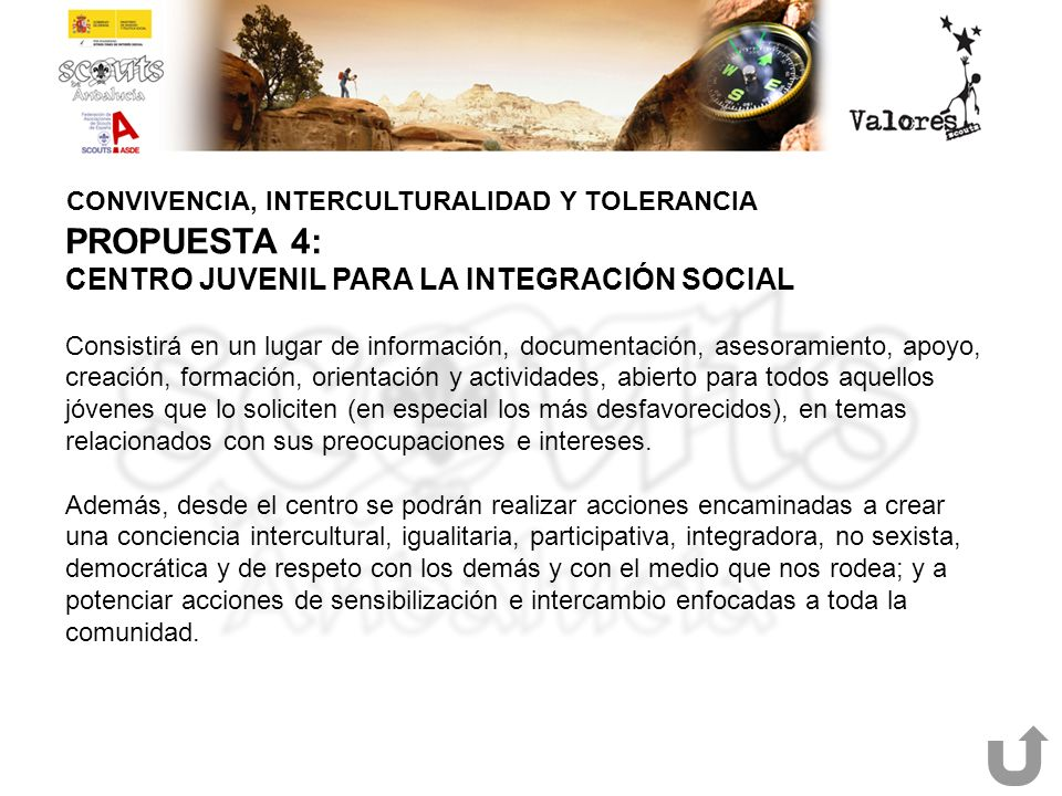 CONVIVENCIA, INTERCULTURALIDAD Y TOLERANCIA
