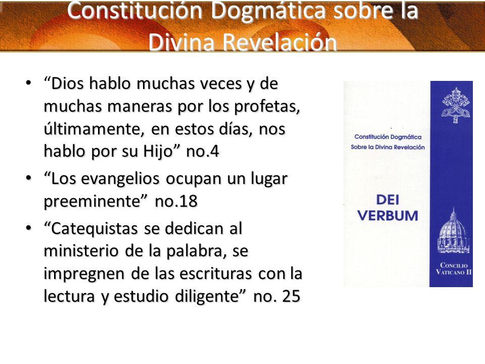 Constitución Dogmática sobre la Divina Revelación