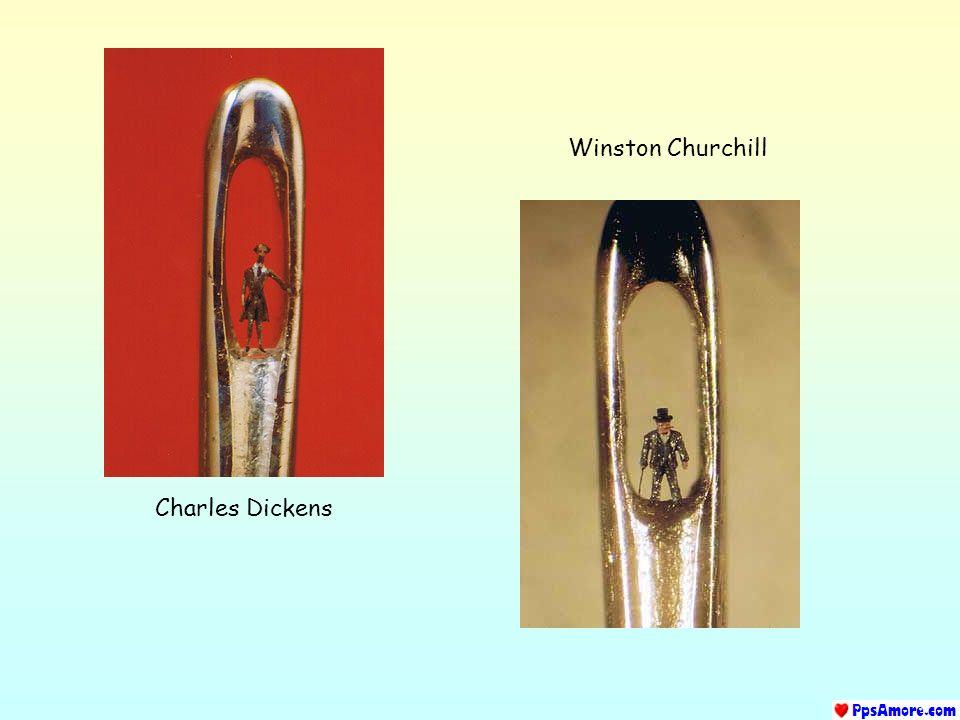 Winston Churchill Charles Dickens