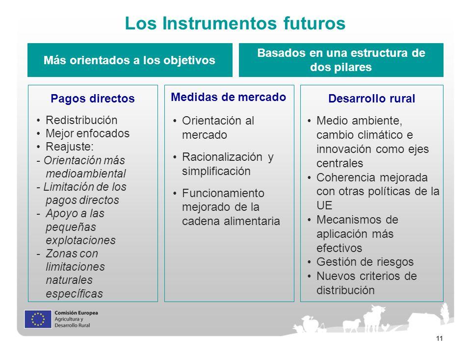 Los Instrumentos futuros