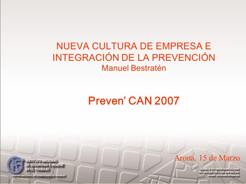 Preven' CAN 2007 NUEVA CULTURA DE EMPRESA E