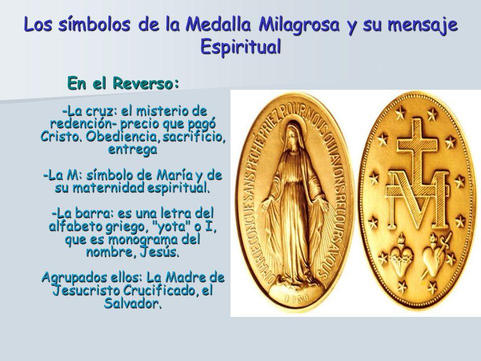 Los símbolos de la Medalla Milagrosa y su mensaje Espiritual