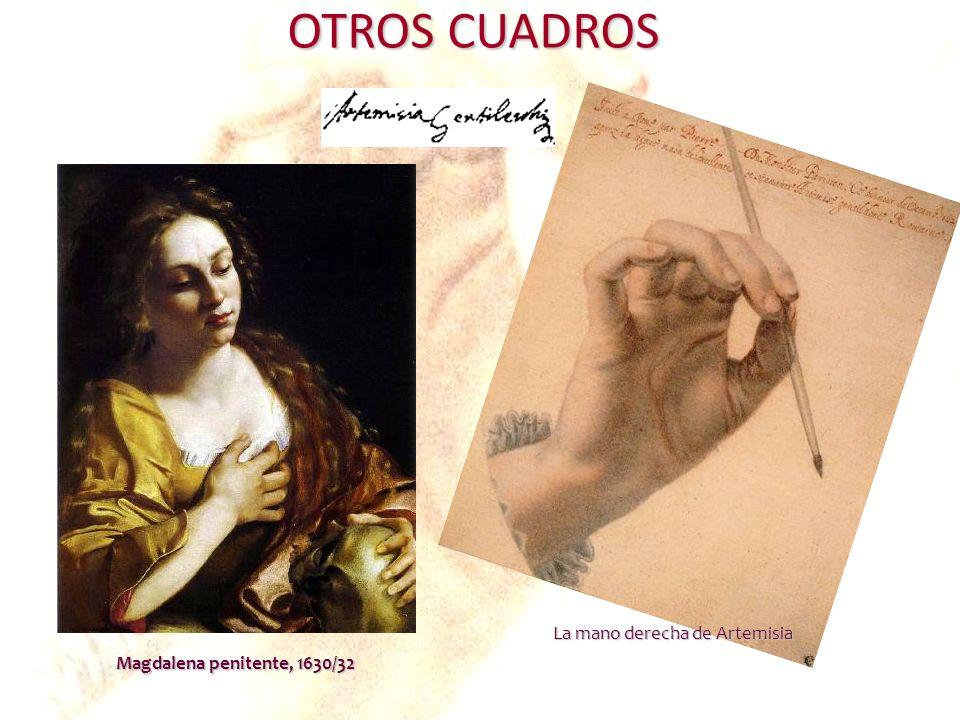 La mano derecha de Artemisia