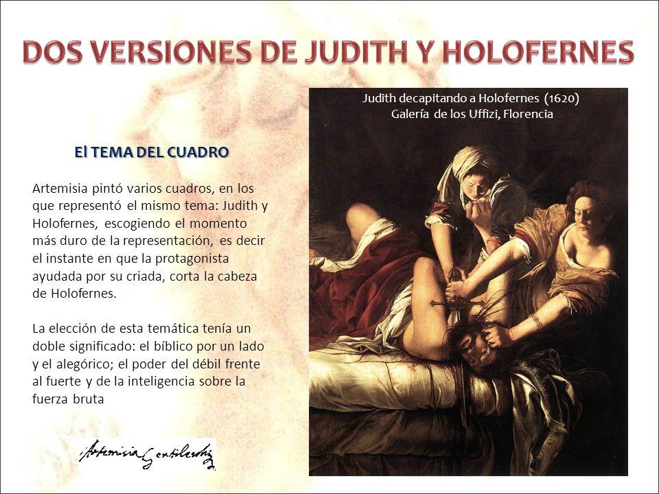 Judith decapitando a Holofernes (1620)
