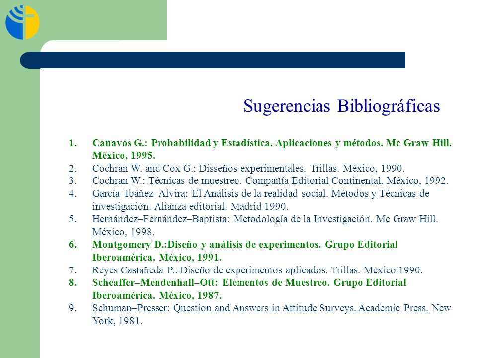 Sugerencias Bibliográficas