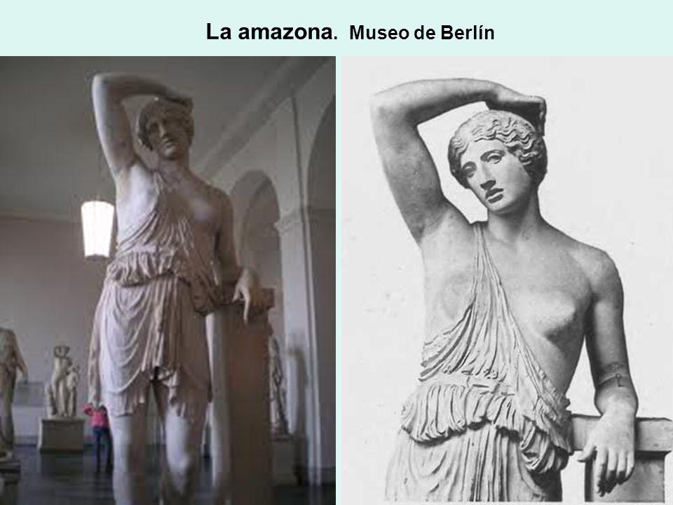 La amazona. Museo de Berlín