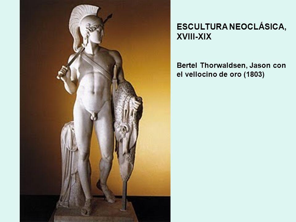 ESCULTURA NEOCLÁSICA, XVIII-XIX