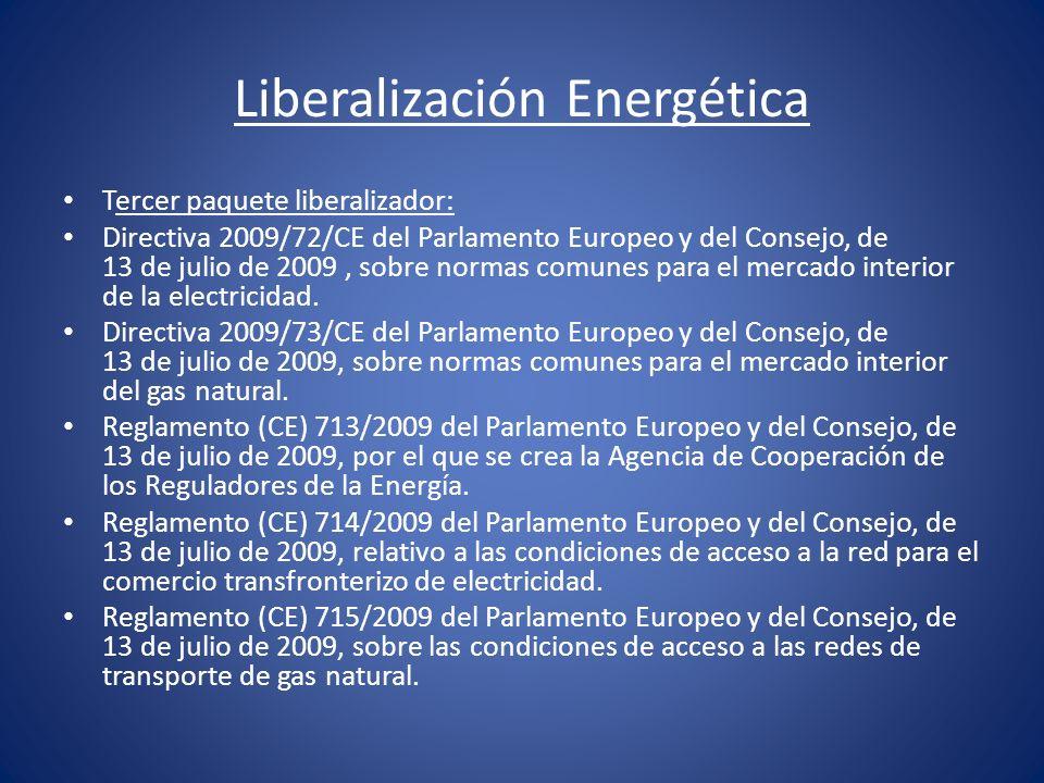 Liberalización Energética