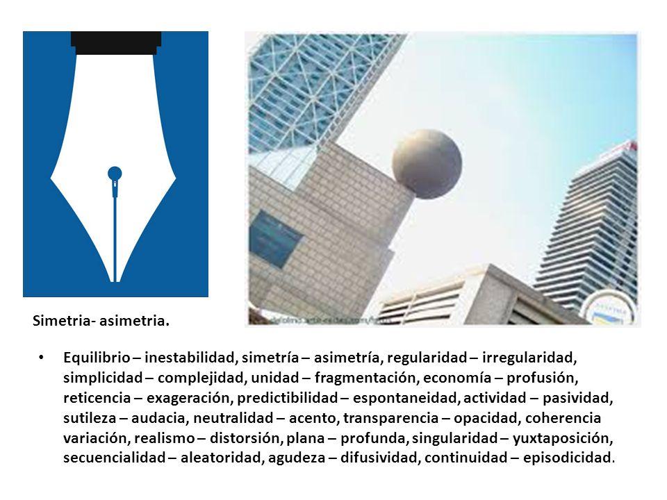 Simetria- asimetria.