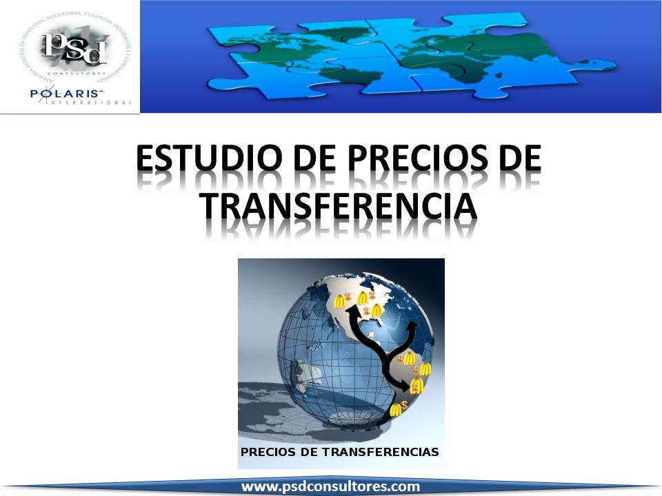 ESTUDIO DE PRECIOS DE TRANSFERENCIA
