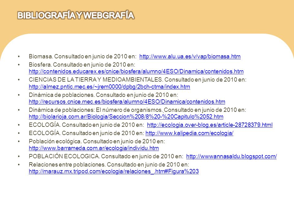 BIBLIOGRAFÍA Y WEBGRAFÍA