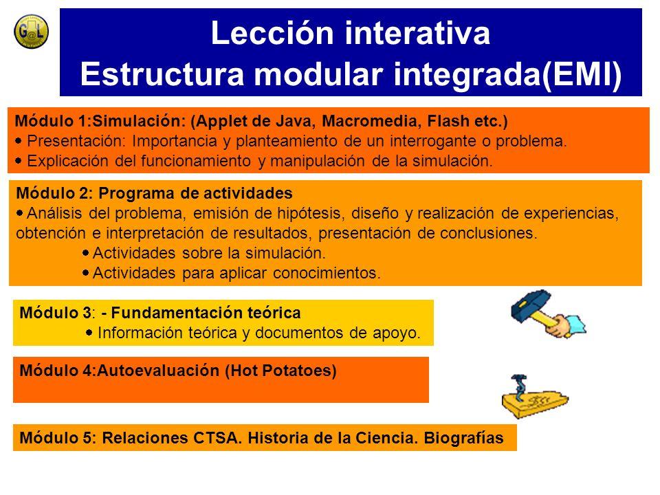 Estructura modular integrada(EMI)