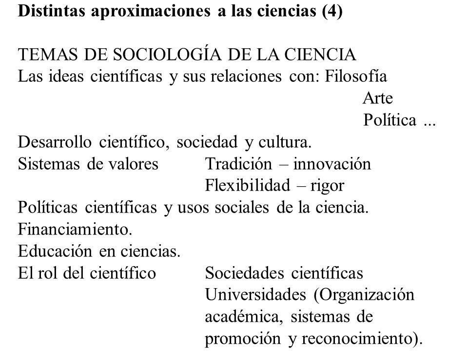 Distintas aproximaciones a las ciencias (4)