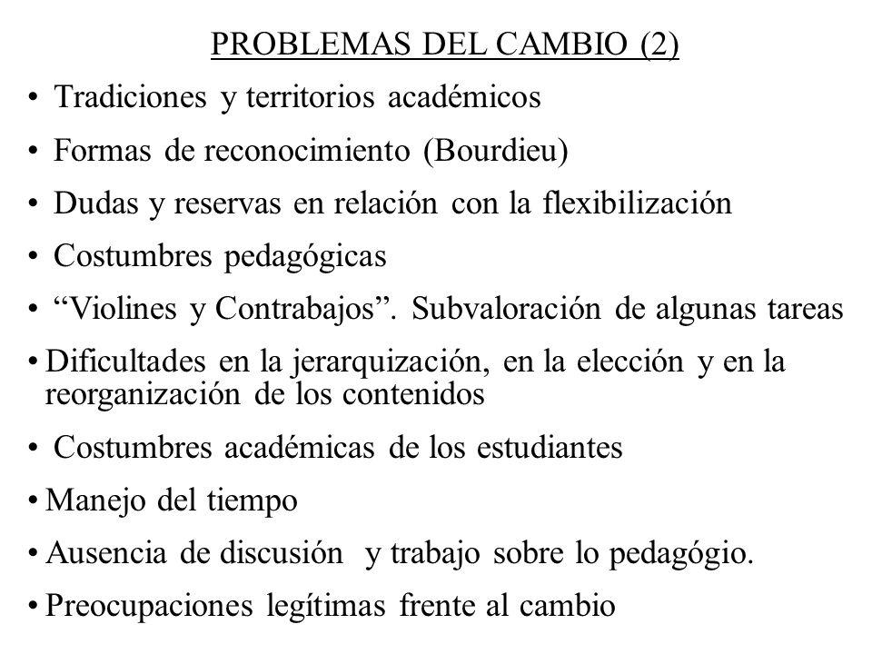 PROBLEMAS DEL CAMBIO (2)