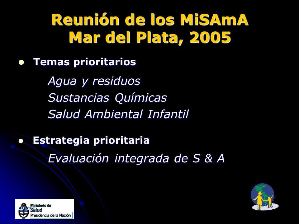Reunión de los MiSAmA Mar del Plata, 2005