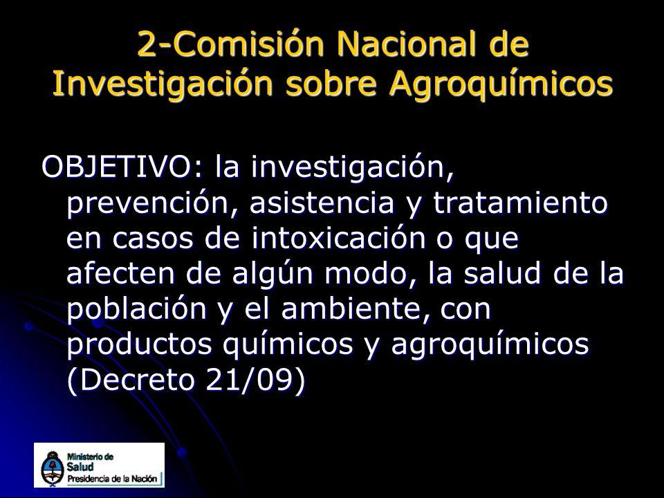 2-Comisión Nacional de Investigación sobre Agroquímicos