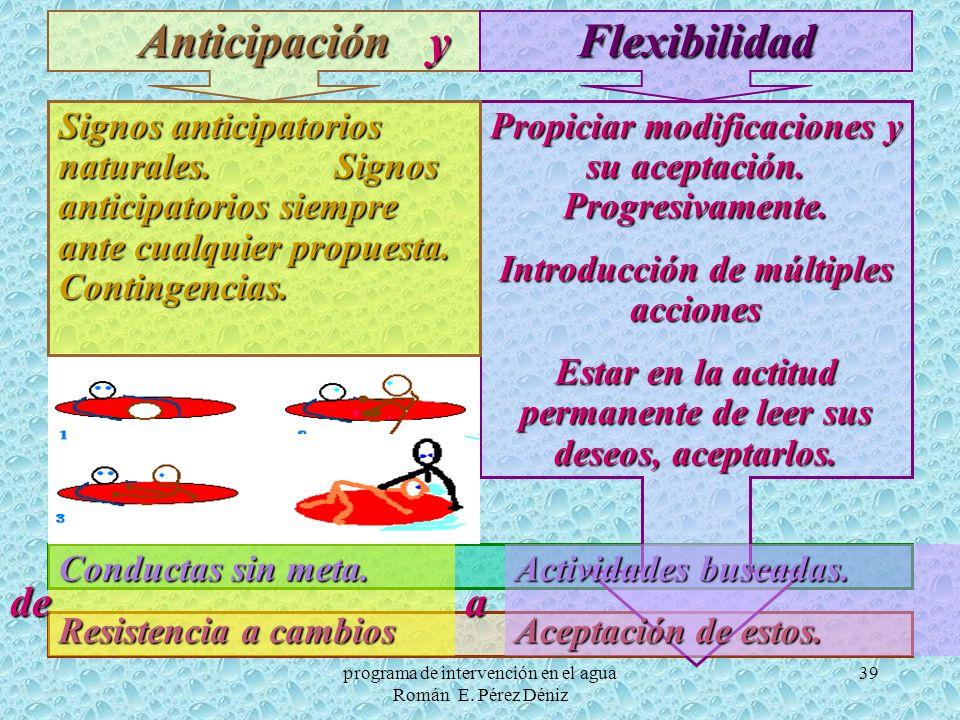 Anticipación Flexibilidad