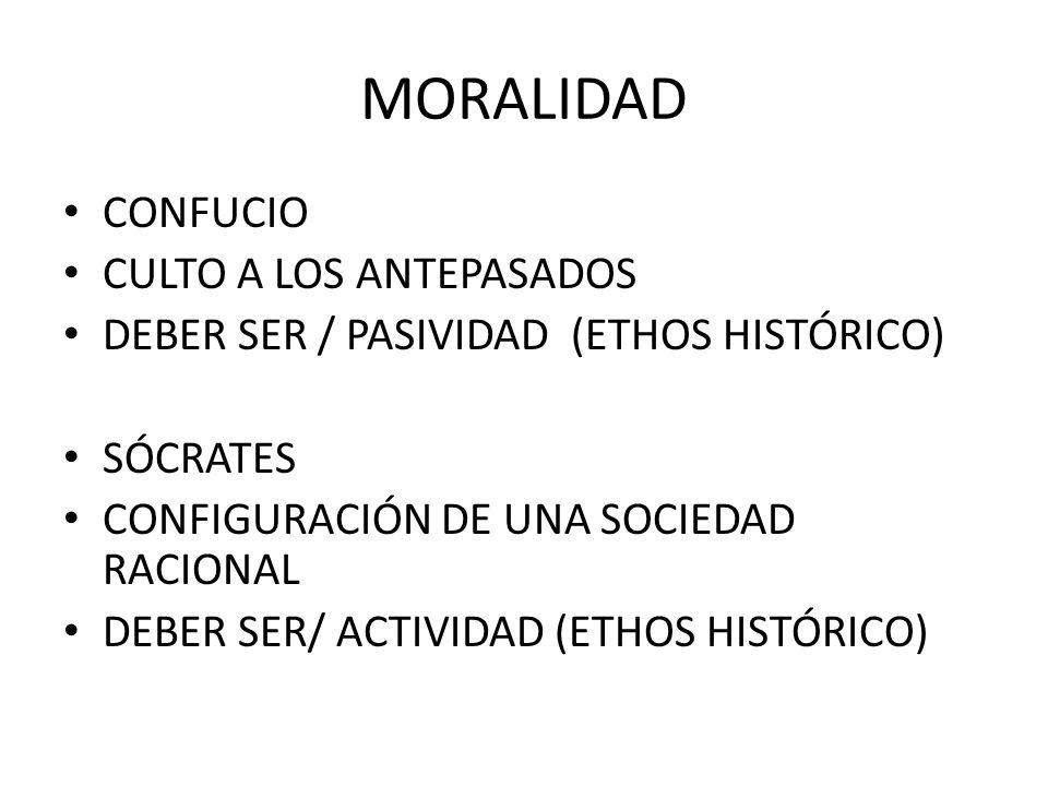 MORALIDAD CONFUCIO CULTO A LOS ANTEPASADOS