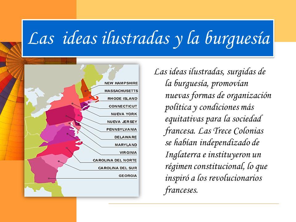 Las ideas ilustradas y la burguesía