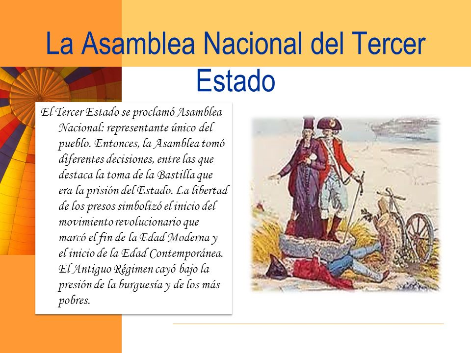 La Asamblea Nacional del Tercer Estado