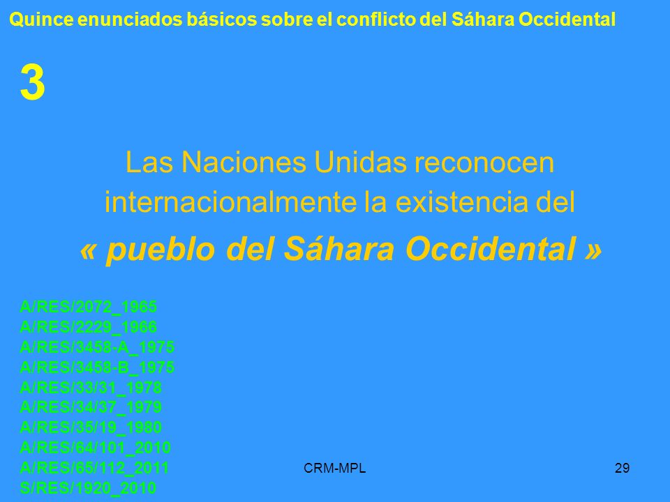 « pueblo del Sáhara Occidental »