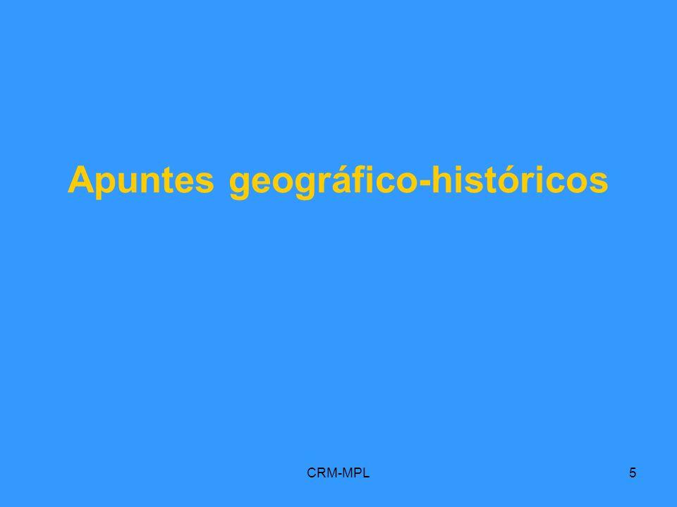 Apuntes geográfico-históricos