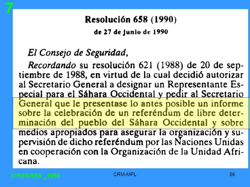 7 S/RES/658 _1990 CRM-MPL