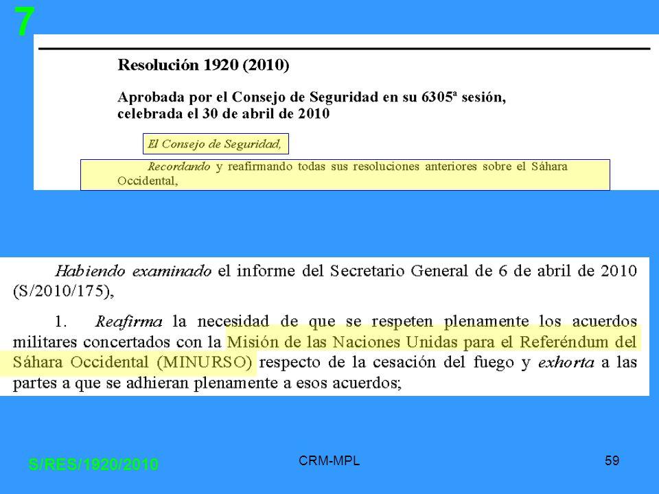7 S/RES/1920/2010 CRM-MPL