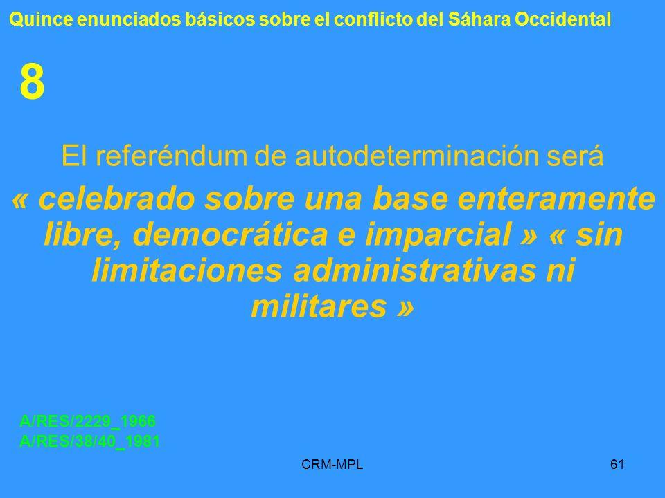El referéndum de autodeterminación será