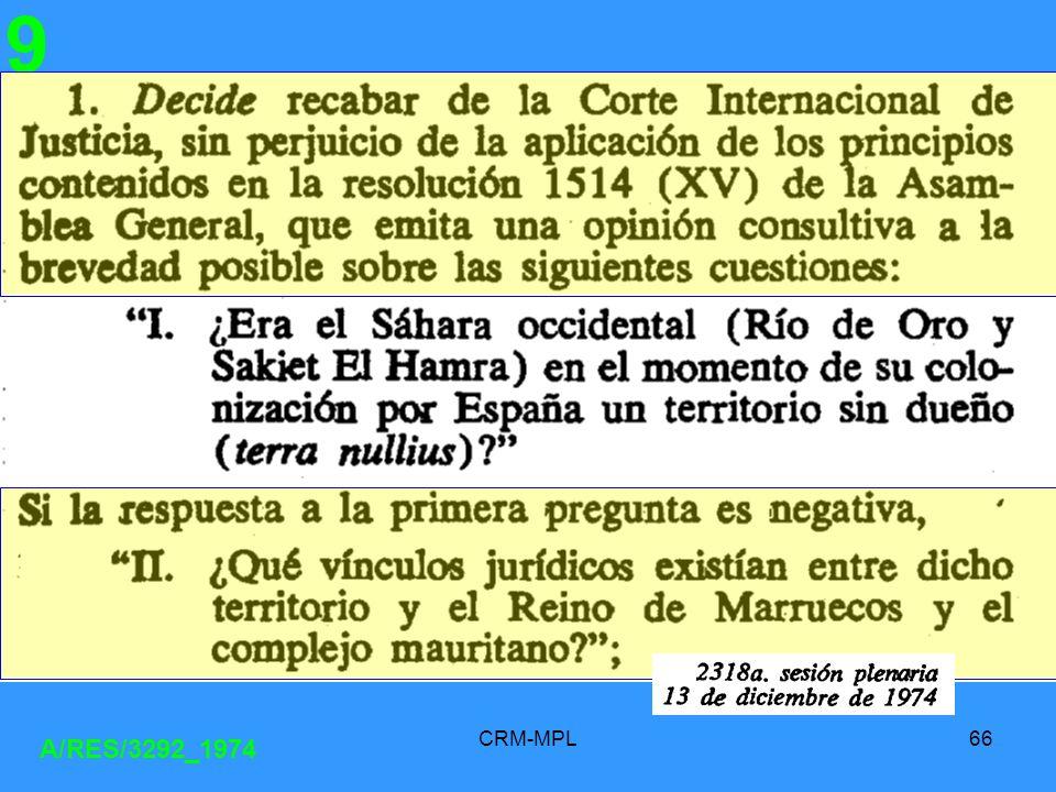 9 A/RES/3292_1974 CRM-MPL