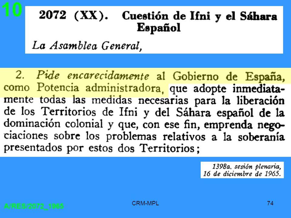 10 A/RES/2072_1965 CRM-MPL