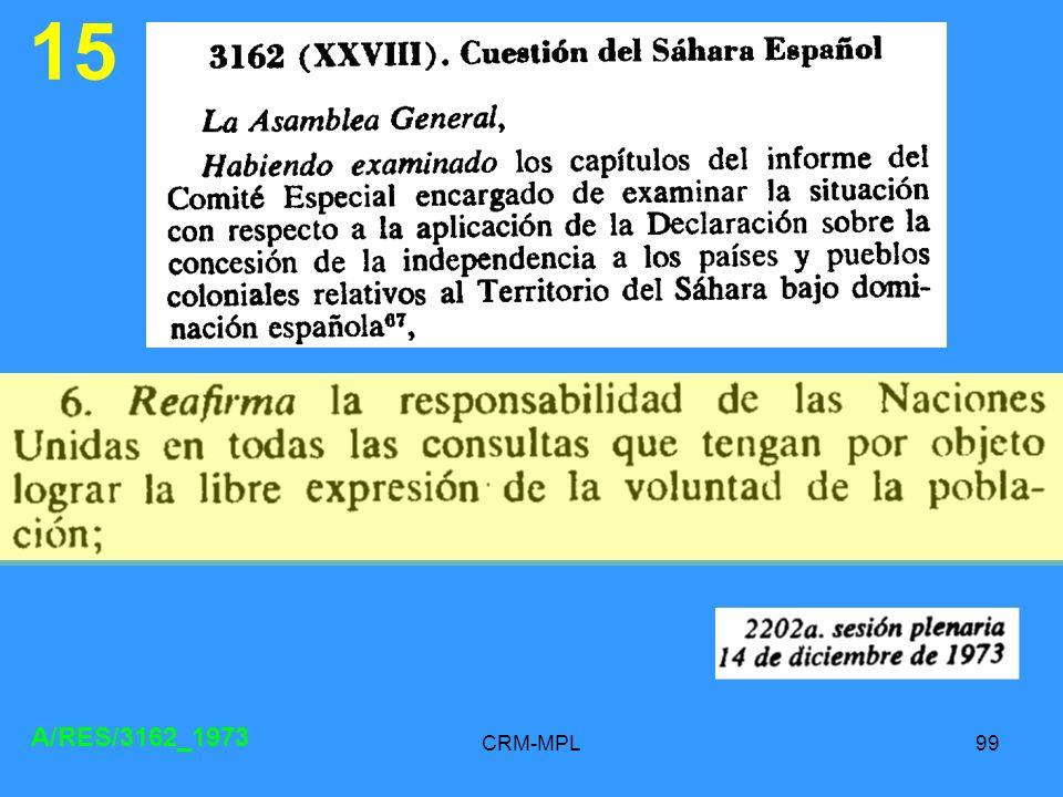 15 A/RES/3162_1973 CRM-MPL