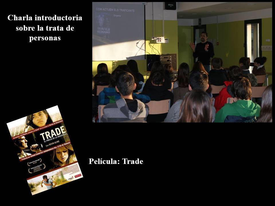 Charla introductoria sobre la trata de personas