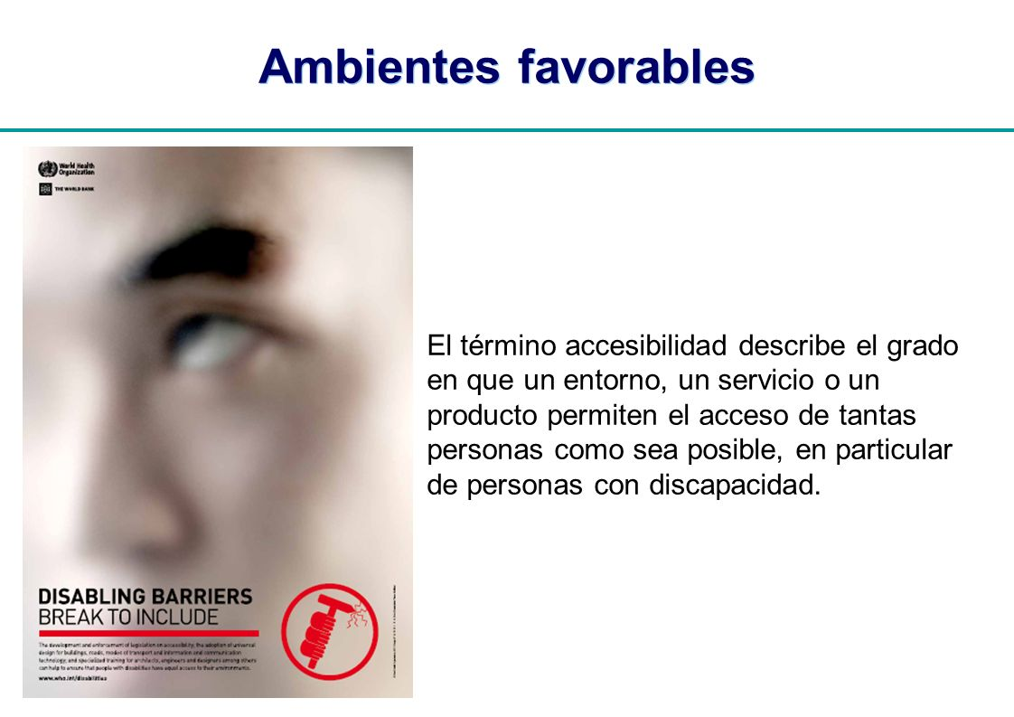 Ambientes favorables