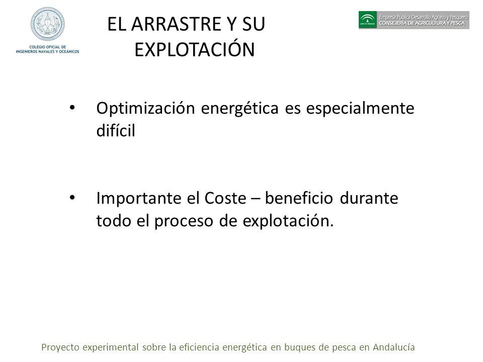 EL ARRASTRE Y SU EXPLOTACIÓN
