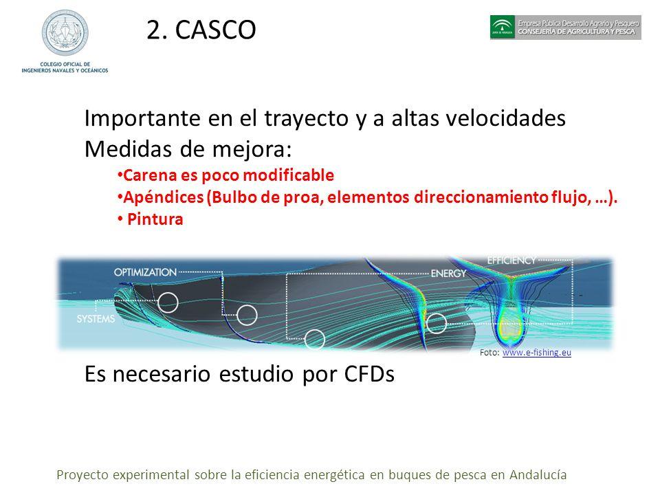 2. CASCO Importante en el trayecto y a altas velocidades