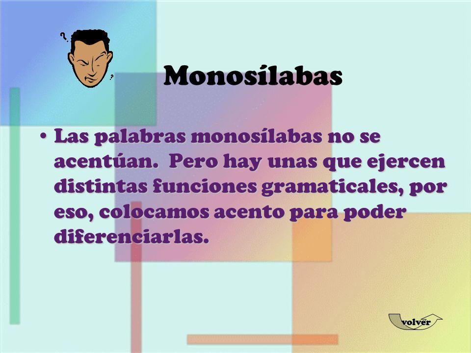 Monosílabas