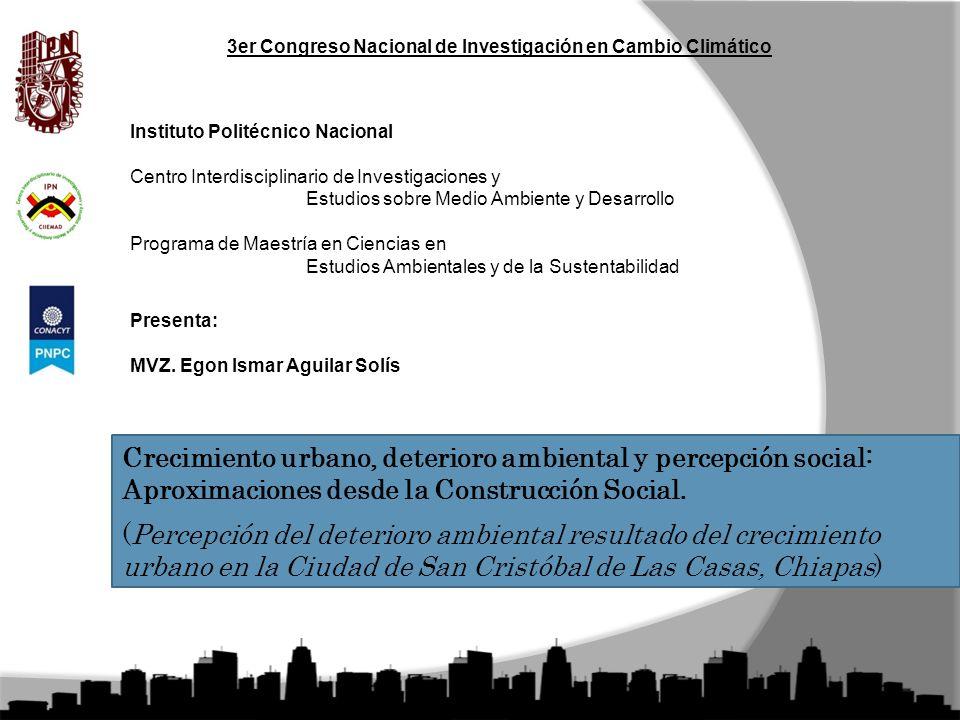 3er Congreso Nacional de Investigación en Cambio Climático