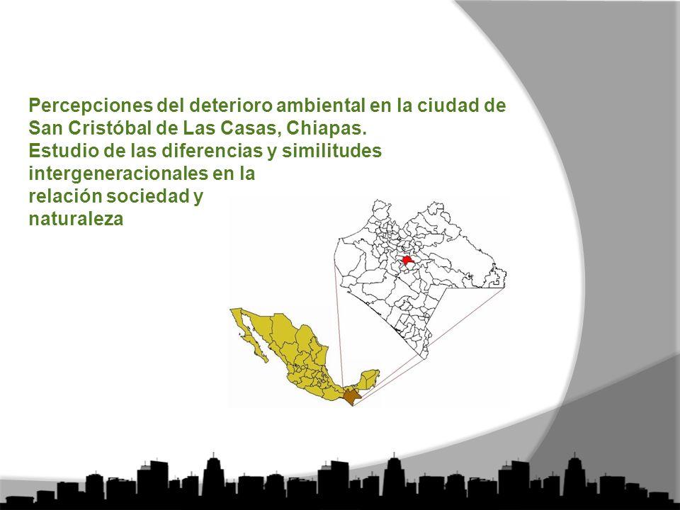 Percepciones del deterioro ambiental en la ciudad de