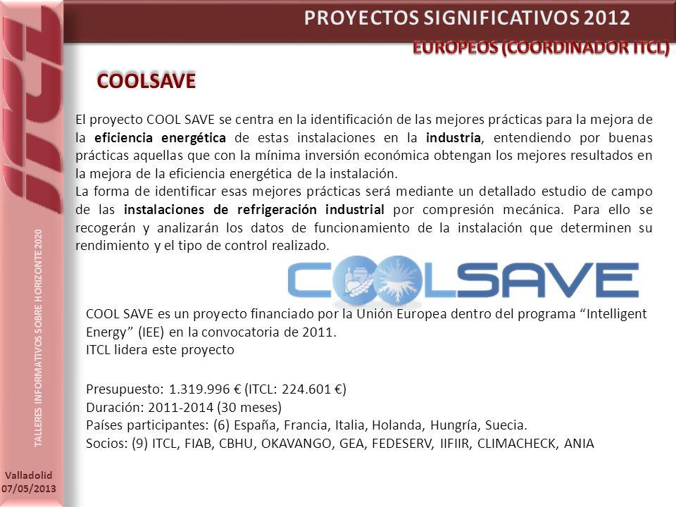 PROYECTOS SIGNIFICATIVOS 2012
