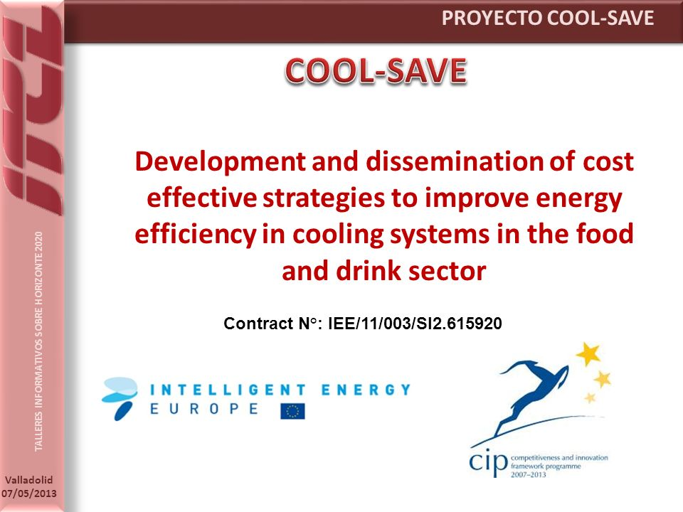 PROYECTO COOL-SAVE COOL-SAVE.