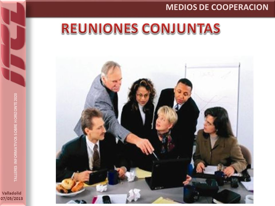 MEDIOS DE COOPERACION REUNIONES CONJUNTAS