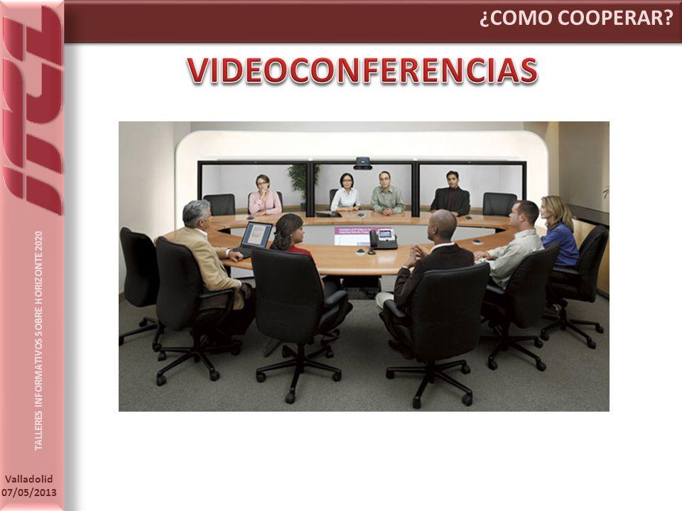 ¿COMO COOPERAR VIDEOCONFERENCIAS