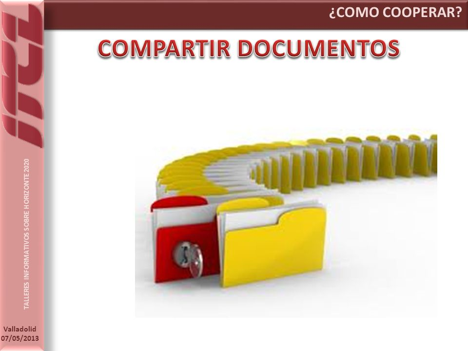 ¿COMO COOPERAR COMPARTIR DOCUMENTOS