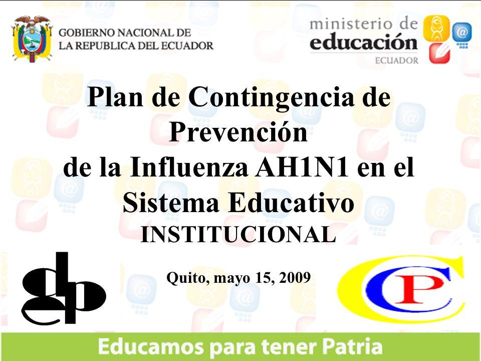 Plan de Contingencia de Prevención