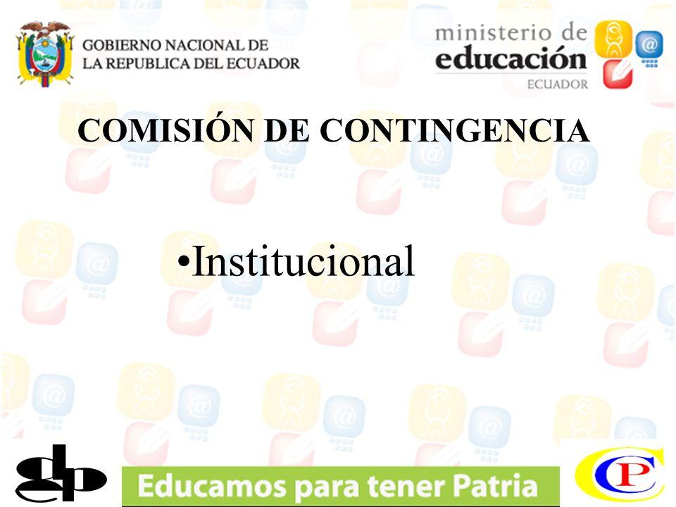 COMISIÓN DE CONTINGENCIA