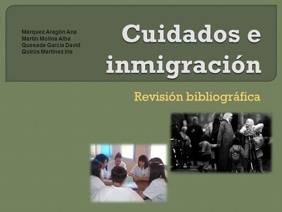 Cuidados e inmigración