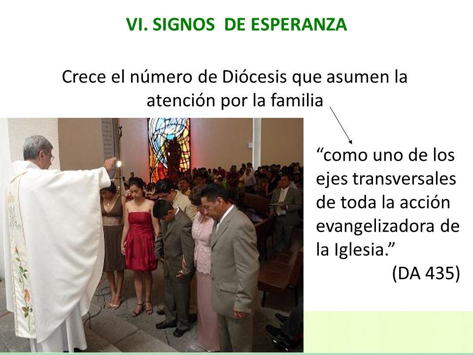 Crece el número de Diócesis que asumen la atención por la familia