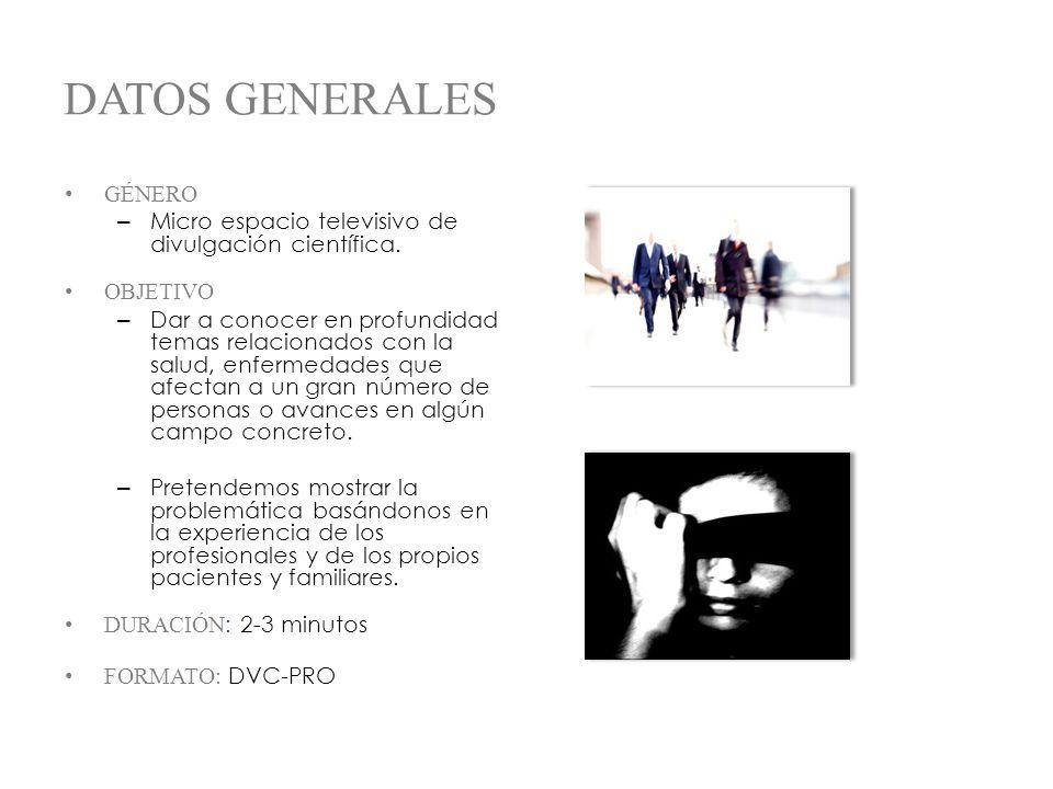 DATOS GENERALES GÉNERO