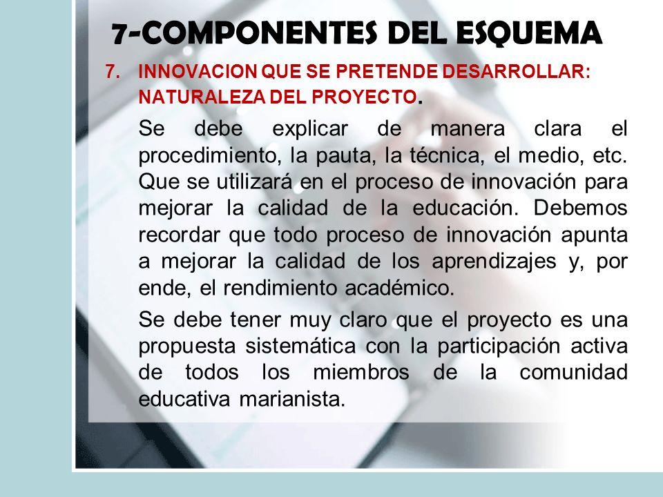 7-COMPONENTES DEL ESQUEMA